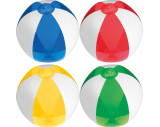Ballon de plage bicolor
